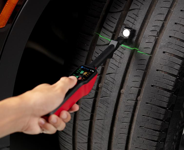 Autel MaxiTPMS TBE200 Laser-enabled Tire Tread and Brake Disc Wear Examiner