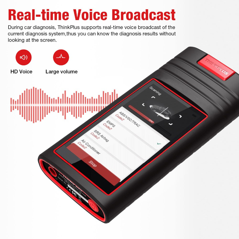 Real-time Voice Broadcast Function of Thinkplus