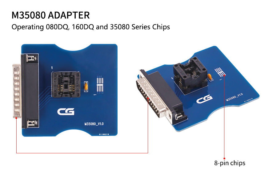 M35080/35160 Adapter for CGDI PRO 9S12 Key Programmer