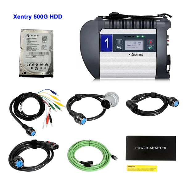 MB SD C4 DOIP PLUS MB Star Diagnostic Tool with Xentry Mercedes Benz Software