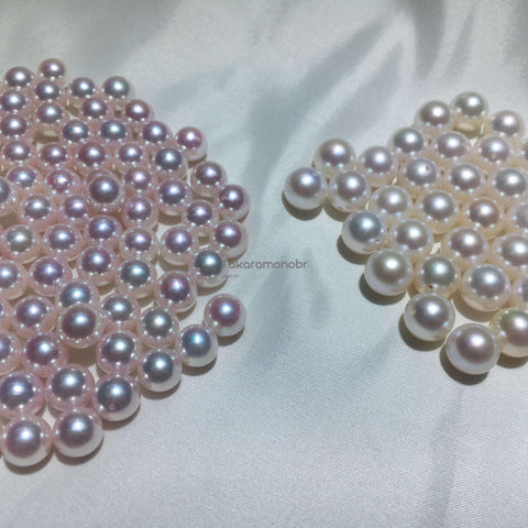 compare to best akoya and common akoya pearls
