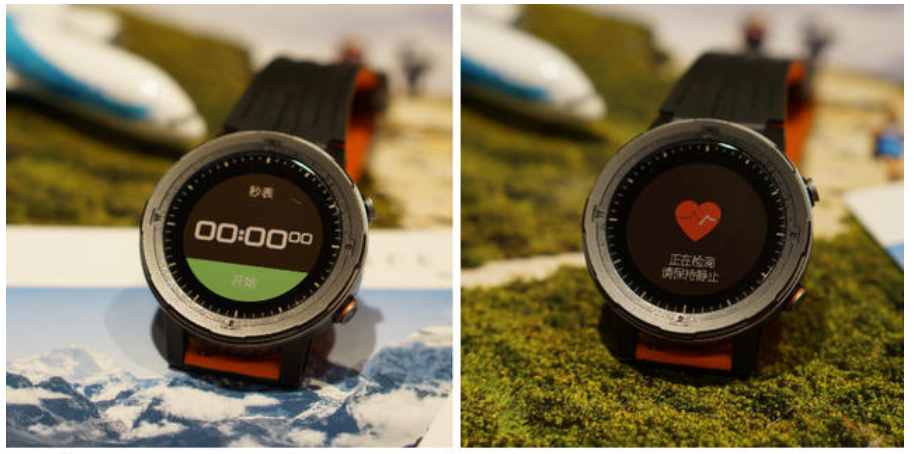runtopia x3 gps watch timer and heart rate tracking