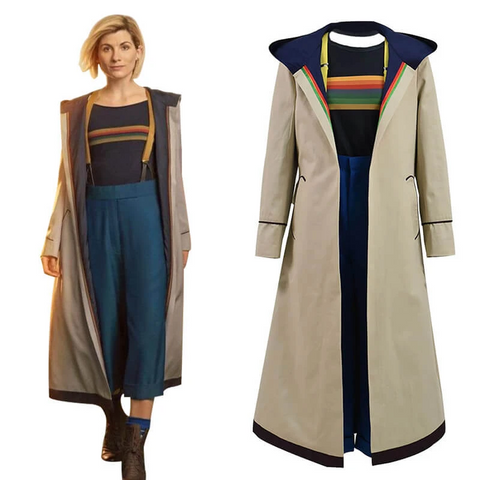13th Doctor Cosplay Costume