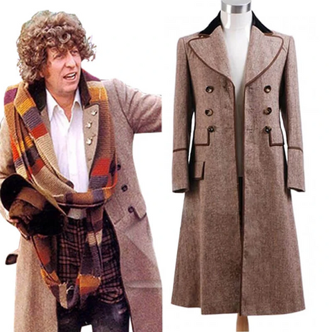4th Doctor Cosplay Costume