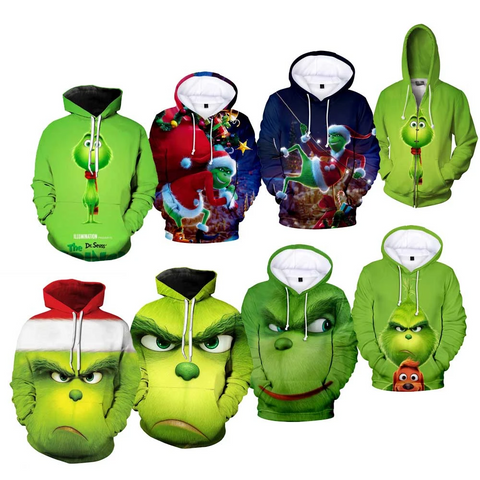 The Grinch Cosplay Costume
