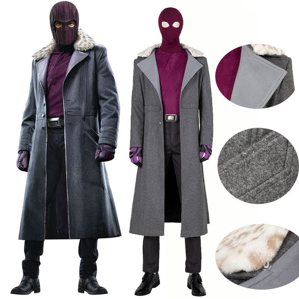 The Falcon and The Winter Soldier Zemo Cosplay Jakcet Suit Costume