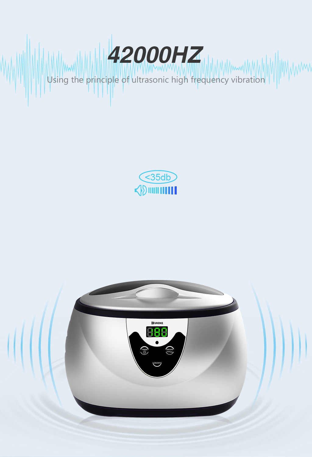 ukoke ultrasonic cleaner