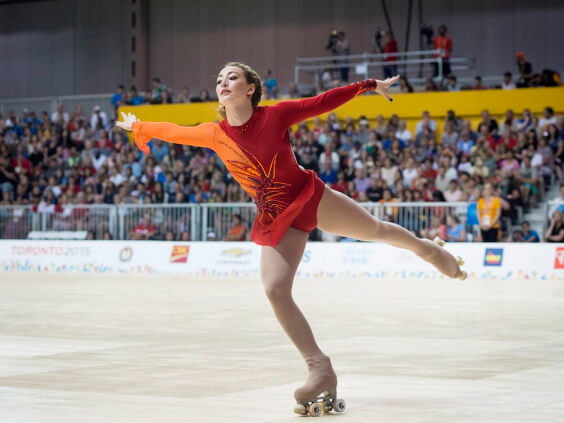A Figure Skater with Toned Legs. Things You Need to Know Before Stepping in on the Roller-Skating Trend | Hummingbird Blog