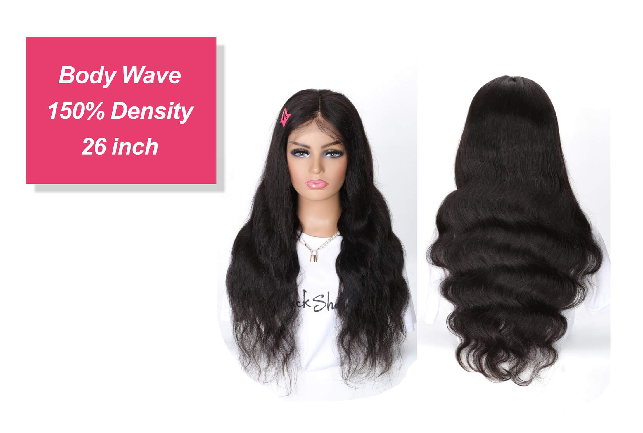 body wave transparent lace 13*4 lace frontal wig