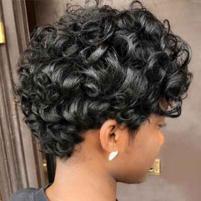 Curly Pixie
