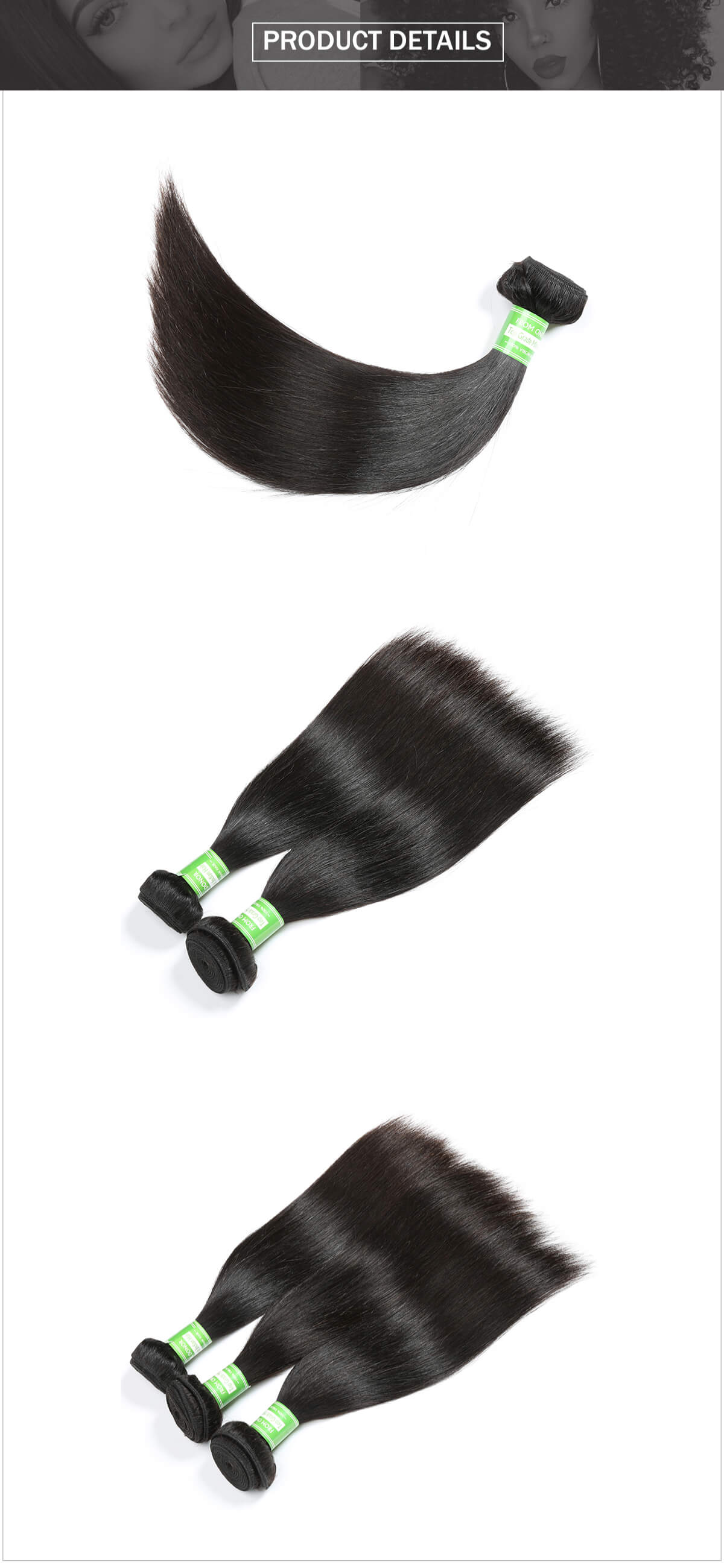 Indian hair straight hair bundle