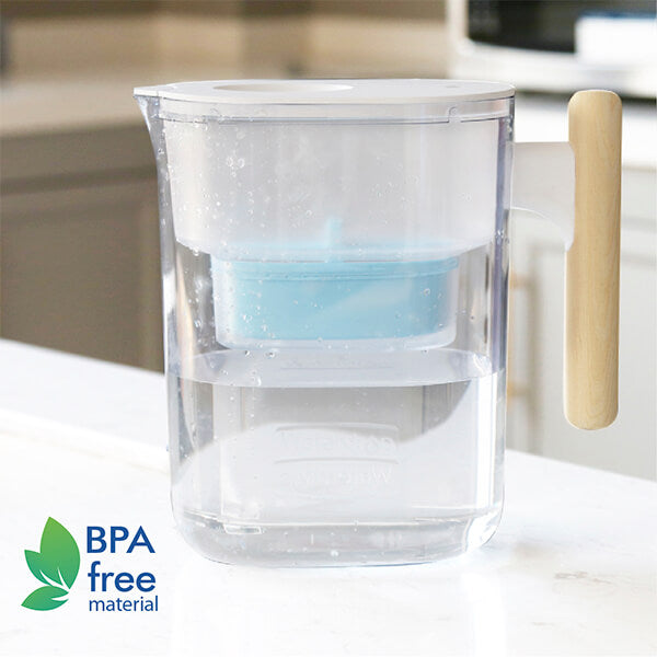Pitcher filter that is safe for use.