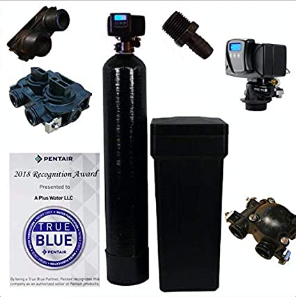 Fleck 5600 SXT Whole House Water Softener 48,000 Grains Ships Loaded With Resin In Tank