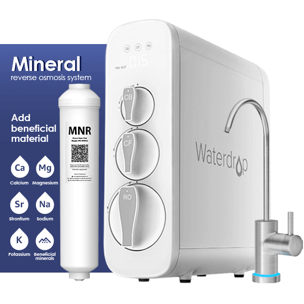 Waterdrop G3 Remineralization RO Water Filter System