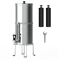 Waterdrop 2.25-gallon King Tank Gravity-fed Water Filter System, Without Stand