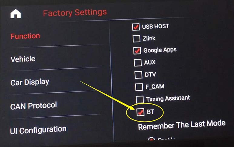 android bluetooth setting