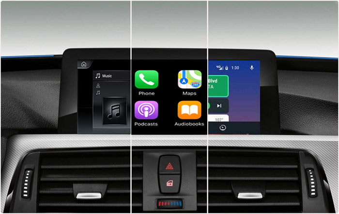 bmw android screen