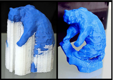 cura support