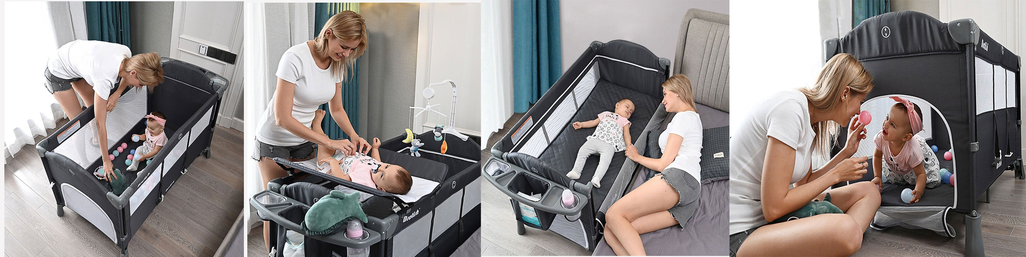 bassinet that attaches to bed