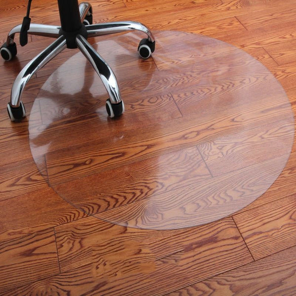 Water Round Mat Wood Floor Protection