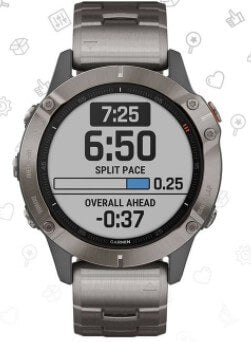 Garmin fēnix 6 Sapphire Fitness-Tracking Watch
