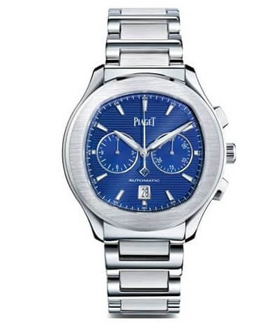 Piaget Polo S Automatic Chronograph Blue Dial Watch