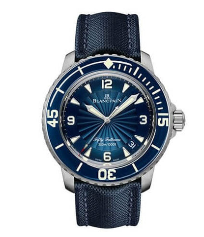 Blancpain Fifty Fathoms Automatic Blue Dial Watch