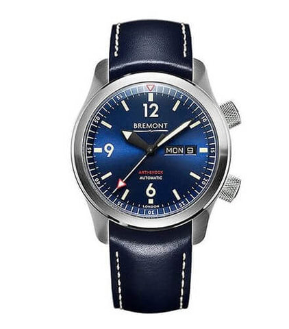 Bremont U2/BL Automatic 45mm Stainless Steel Blue Dial Watch