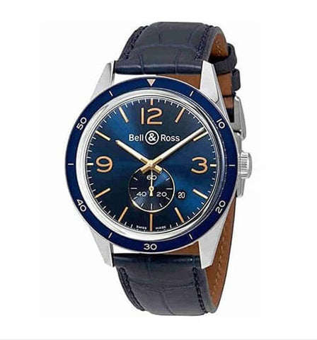 Bell and Ross Vintage Blue Dial Automatic Watch