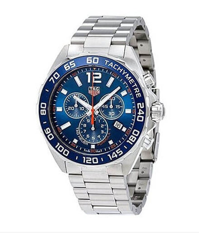Tag Heuer Formula 1 Chronograph Blue Dial Watch