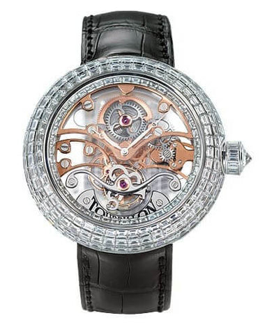 Jacob & Co. Crystal Tourbillon Diamond Men's Watch