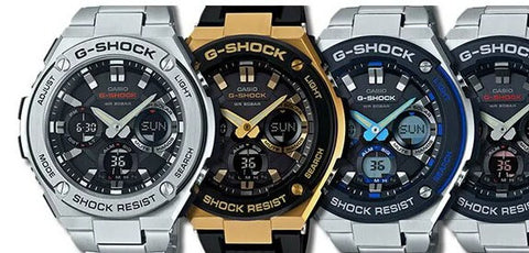 "G-Shock ""G-Steel"" Series"