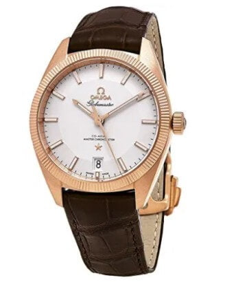 Omega Men's Globemaster Gold Swiss-Automatic Watch