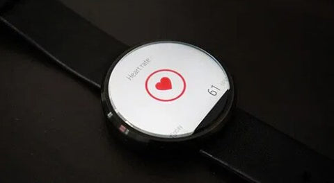 Smartwatch with heart rate monitoring