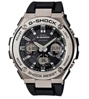 Casio Men's G Shock Stainless Steel Quartz Watch