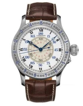 Longines Heritage Collection Lindbergh Men's Watch.