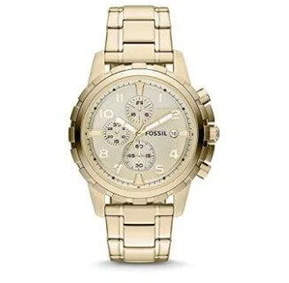 Fossil Men's Dean Stainless Steel Chronograph Watch