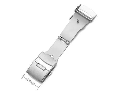 Single Fold Over Clasp Deployant Buckle