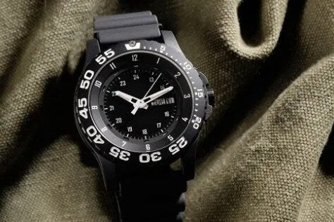Sturdy Tactical Watch Black