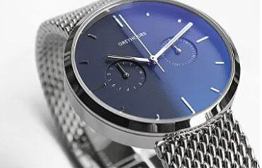 Greyhours Vision Steel Blue Watch