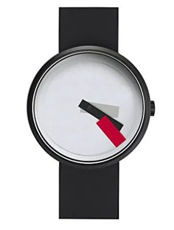 Projects Red Suprematism Watch by Denis Guidone.