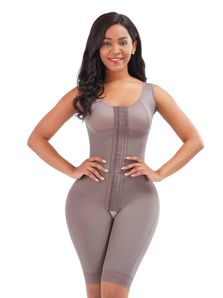 full body shapewear bodysuit for tummy control