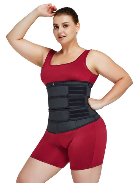 plus size waist trainer corset