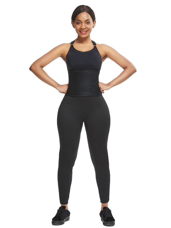 waist trainer with leggings