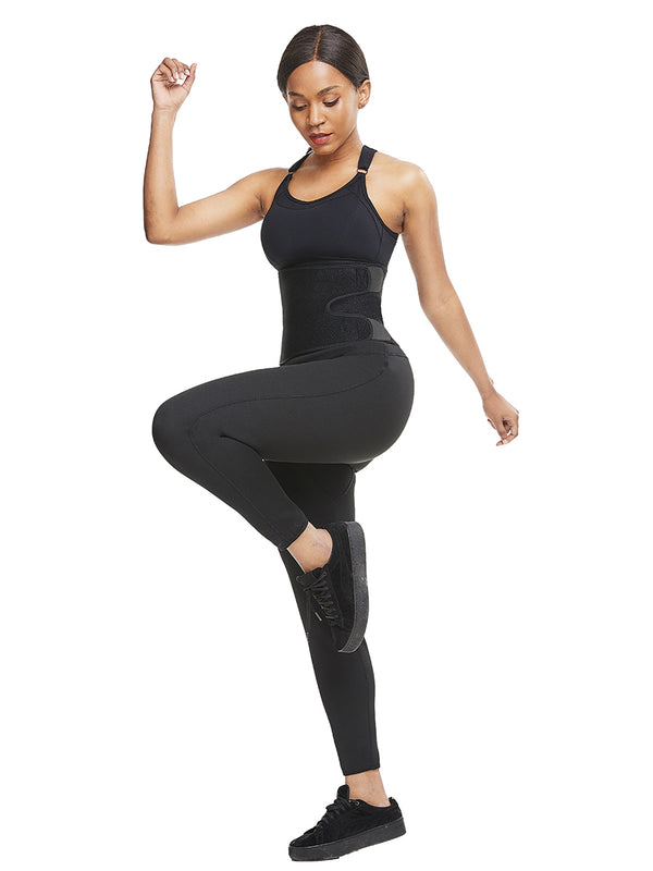 leggings with waist trainer