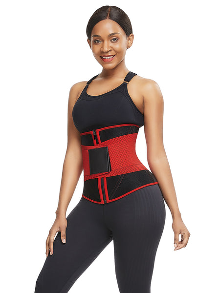 zip up neoprene waist trainer