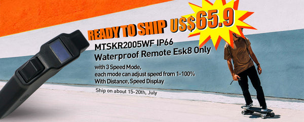 【Ready to Ship】Maytech New Remote for Electric Skateboard MTSKR2005WF V2 Waterproof Hand Remote