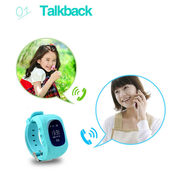 2G GPS Watch for kids