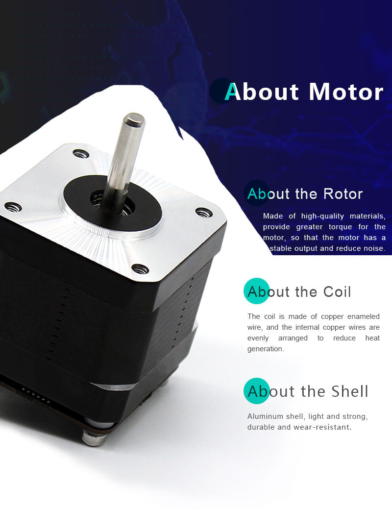 nema stepper motor for cnc
