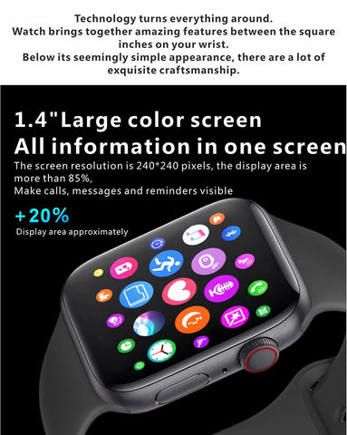 Pingko Smartwatch with large screen